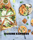 Couverture du livre « Cuisine express » de Aurelie Desgages aux éditions Hachette Pratique
