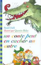 Couverture du livre « Un conte peut en cacher un autre » de Roald Dahl aux éditions Gallimard-jeunesse