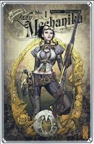 Couverture du livre « Lady Mechanika T.1 ; le mystère du corps mécanique » de Peter Steigerwald et Joe Benitez aux éditions Glenat Comics