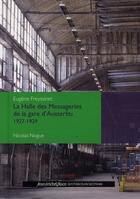 Couverture du livre « Halle Freyssinet le béton absolu » de Nogue Nicolas aux éditions Nouvelles Editions Place