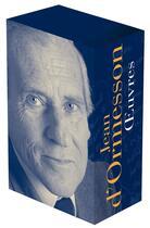 Couverture du livre « Oeuvres t.1 et t.2 » de Jean d'Ormesson aux éditions Gallimard