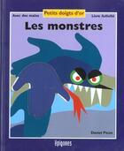 Couverture du livre « Les Monstres » de Daniel Picon aux éditions Epigones