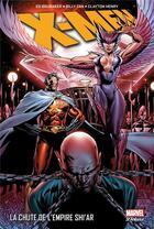 Couverture du livre « X-Men ; la chute de l'empire Shi'ar » de Billy Tan et Clayton Henry et Ed Brubaker aux éditions Panini