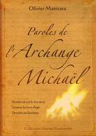 Couverture du livre « Paroles de l'archange Michaël » de Olivier Manitara aux éditions Ultima