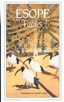 Couverture du livre « Fables d'Esope » de Esope aux éditions Flammarion