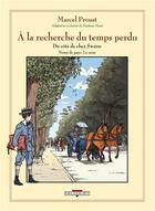 Couverture du livre « À la recherche du temps perdu t.6 ; du côté de chez Swann ; noms de pays : le nom » de Marcel Proust et Stephane Heuet aux éditions Delcourt