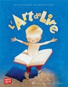 Couverture du livre « L'art de lire » de Michelle Nikly et Jean Claverie aux éditions Albin Michel