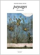 Couverture du livre « Paysages » de Rainer Maria Rilke aux éditions Marguerite Waknine