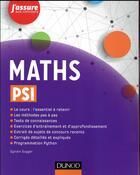 Couverture du livre « Maths psi » de Sylvain Gugger aux éditions Dunod