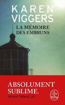 Couverture du livre « La mémoire des embruns » de Karen Viggers aux éditions Lgf
