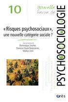 Couverture du livre « Nouvelle revue de psychosociologie N.10 ;