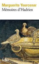 Couverture du livre « Mémoires d'Hadrien » de Marguerite Yourcenar aux éditions Gallimard