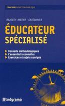 Couverture du livre « Éducateur spécialisé » de Etudium aux éditions Studyrama