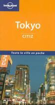 Couverture du livre « Tokyo » de Wendy Yanagihara aux éditions Lonely Planet France