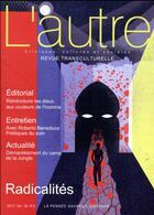 Couverture du livre « Revue l'autre n 53 » de Marie-Rose Moro aux éditions Pensee Sauvage