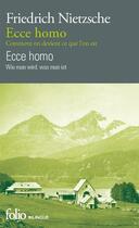 Couverture du livre « Ecce homo » de Friedrich Nietzsche aux éditions Gallimard