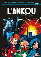Couverture du livre « Les aventures de Spirou et Fantasio T.27 ; l'Ankou » de Franquin aux éditions Dupuis