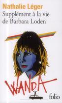 Couverture du livre « Supplément à la vie de Barbara Loden » de Nathalie Leger aux éditions Gallimard