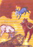 Couverture du livre « Marc chagall ; les fables de la fontaine ; chagall » de Didier Schulmann aux éditions Reunion Des Musees Nationaux