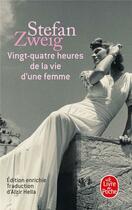 Couverture du livre « Vingt-quatre heures de la vie d'une femme » de Stefan Zweig aux éditions Lgf