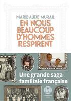 Couverture du livre « En nous beaucoup d'hommes respirent » de Marie-Aude Murail aux éditions L'iconoclaste