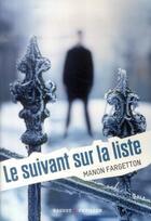 Couverture du livre « Le suivant sur la liste » de Manon Fargetton aux éditions Rageot