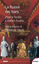 Couverture du livre « La Russie des tsars » de Collectif aux éditions Tempus/perrin