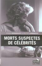Couverture du livre « Crimes de personnes célèbres » de Collectif aux éditions Luc Pire