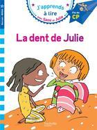 Couverture du livre « Sami et Julie ; la dent de Julie » de Collectif aux éditions Hachette Education