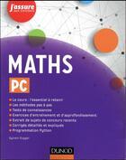 Couverture du livre « Maths pc » de Sylvain Gugger aux éditions Dunod