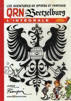 Couverture du livre « QRN sur Bretzelburg ; intégrale » de Franquin aux éditions Marsu Productions