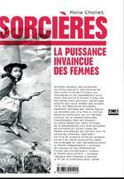 Couverture du livre « Sorcières ; la puissance invaincue des femmes » de Mona Chollet aux éditions Zones