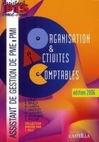 Couverture du livre « Organisation et activites comptables » de Zilli aux éditions Casteilla