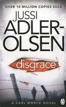 Couverture du livre « Disgrace » de Jussi Adler-Olsen aux éditions Adult Pbs