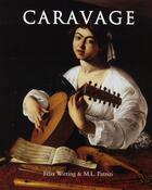 Couverture du livre « Caravage » de Felix Witting aux éditions Parkstone International