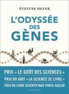 Couverture du livre « L'odyssée des gènes » de Evelyne Heyer aux éditions Flammarion