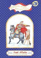 Couverture du livre « Saint Martin ; le manteau partagé » de Mauricette Vial-Andru aux éditions Saint Jude