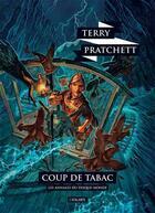 Couverture du livre « Les annales du Disque-monde T.39 ; coup de tabac » de Terry Pratchett aux éditions L'atalante