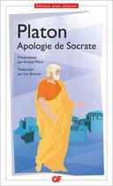Couverture du livre « Apologie de Socrate » de Platon aux éditions Flammarion