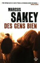 Couverture du livre « Des gens bien » de Marcus Sakey aux éditions Cherche Midi