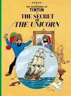 Couverture du livre « The adventures of Tintin T.11 ; the secret of the unicorn » de Herge aux éditions Casterman