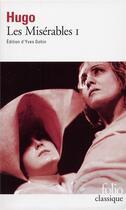 Couverture du livre « Les misérables t.1 » de Victor Hugo aux éditions Gallimard