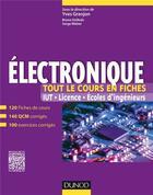 Couverture du livre « Électronique » de Yves Granjon et Serge Weber et Bruno Estibals aux éditions Dunod