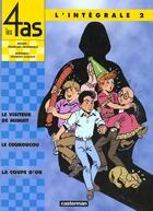 Couverture du livre « Les 4 as ; intégrale t.2 » de Georges Chaulet et Francois Craenhals aux éditions Casterman
