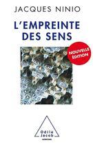 Couverture du livre « L'empreinte des sens (édition 2011) » de Jacques Ninio aux éditions Odile Jacob
