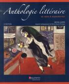 Couverture du livre « Anthologie littéraire de 1800 à aujourd'hui (3e édition) » de Michel Laurin aux éditions Beauchemin