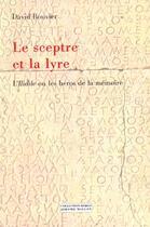 Couverture du livre « Le sceptre et la lyre » de David Bouvier aux éditions Millon