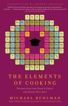 Couverture du livre « The Elements of Cooking » de Ruhlman Michael aux éditions Scribner