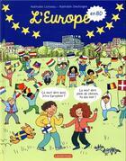 Couverture du livre « L'Europe en bd » de Nathalie Desforges et Nathalie Loiseau aux éditions Casterman