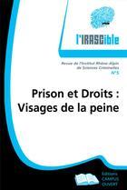 Couverture du livre « Prison et droits : visages de la peine » de Irascible 5 aux éditions Campus Ouvert